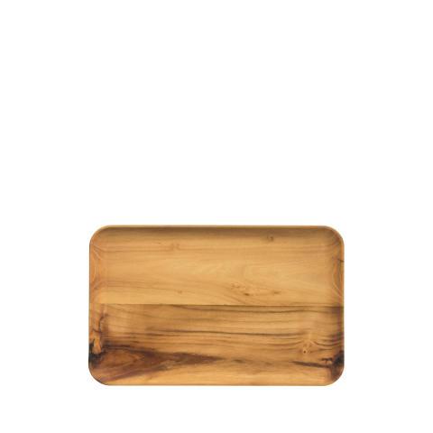 aida - RAW tallerken i teak, vejl pris 199,- DKK