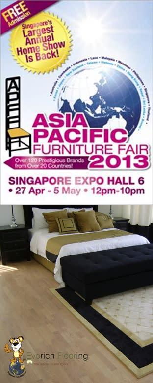 Evorich Flooring in Asia Pacific Furniture Fair 2013