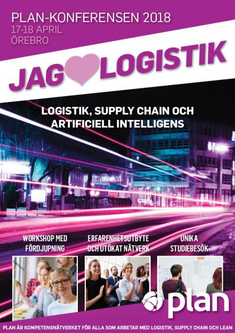 PLAN-konferensen - Logistik, Supply Chain, Artificiell Intelligens