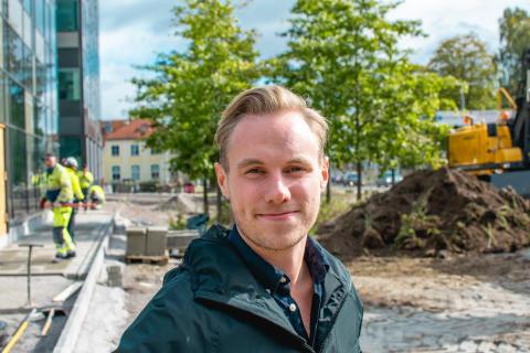 Alexander Eliasson, arbetsplatsansvarig Fortnox