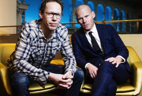 Markus Lutteman och Mons Kallentoft