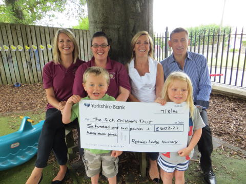 Local Sheffield nursery raises over £600 for children's charity