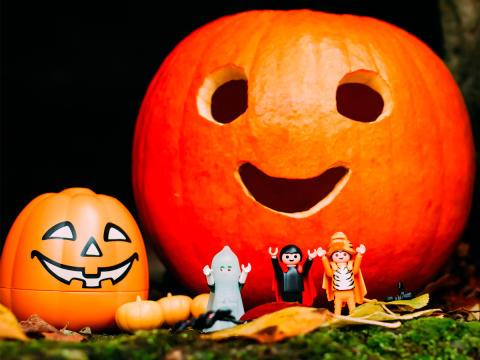 Halloween und Saisonabschluss: Der Herbst im PLAYMOBIL-FunPark