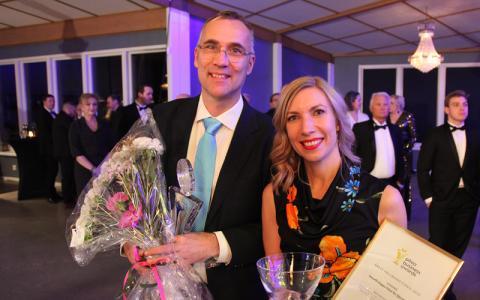 Årets vinnare av SunPines Hållbarhetspris är Smurfit Kappa