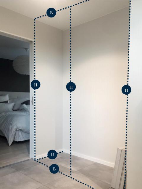 Elfa - Planlegging av garderobe til gangen - 7