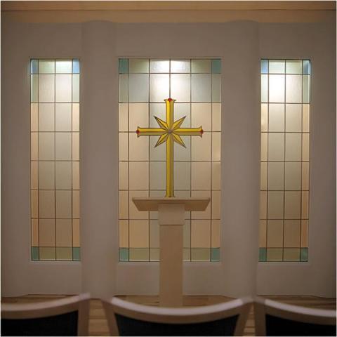 Fönsterdekor kyrka