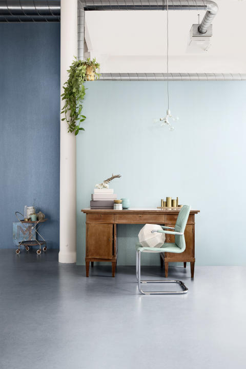 Eco Mix Metallic - Ocean Blue and Light Turquoise