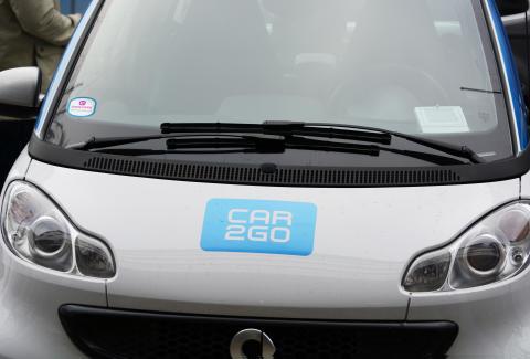 EasyPark skapar ny parkeringslösning i samarbete med bildelningstjänsten car2go