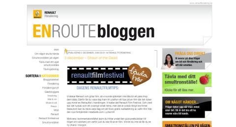 Renault Försäkring startar filmfestival på nätet