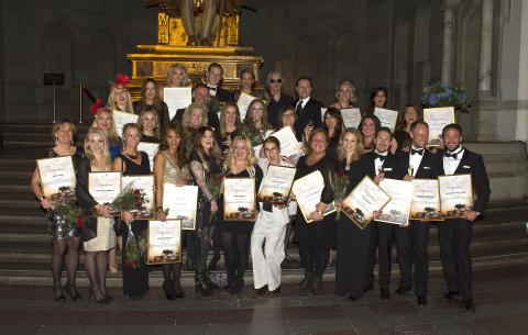 Vinnare i SBCA 2014