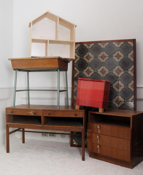 Möbler innan remake