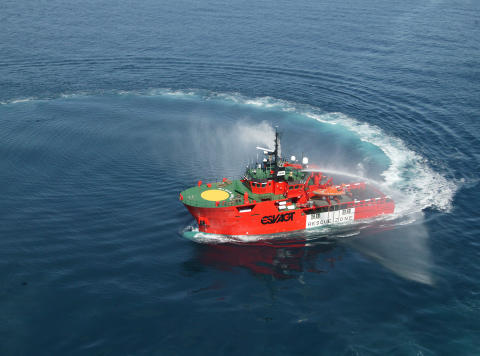 'Esvagt Corona' extended on the Yme field