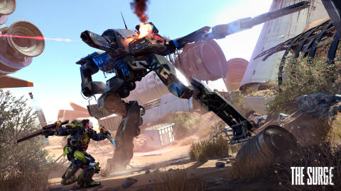 New screenshots from The Surge