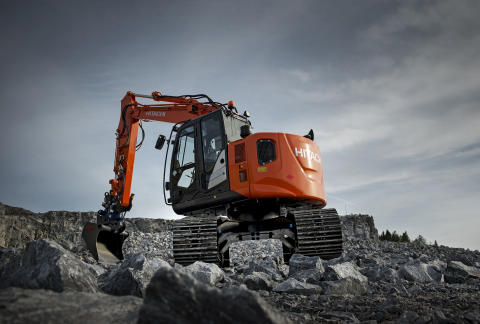 Hitachi ZX135USL-5B Forest