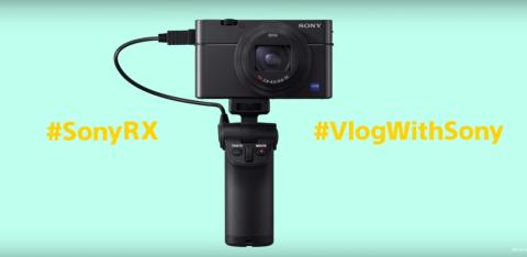 Sony présente la nouvelle poignée de prise de vue VCT-SGR1 pour les appareils photo des séries RX0 et RX100