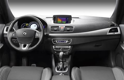 Renault Megane CC interiør