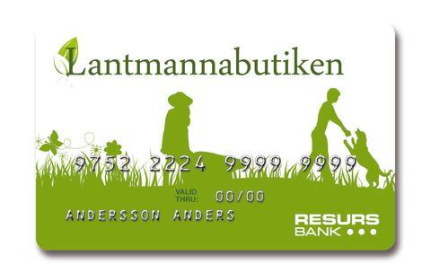 Resurs Bank hjälper Lantmannabutiken att växa med kundfinansiering