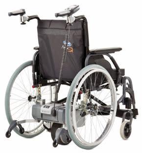 Vårdarstyrt drivaggregat för rullstolar