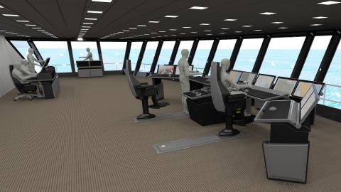 High res image - Kongsberg Maritime - Cruise layout 02
