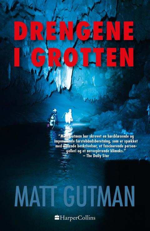 Nyhed på vej fra HarperCollins: DRENGENE I GROTTEN af Matt Gutman