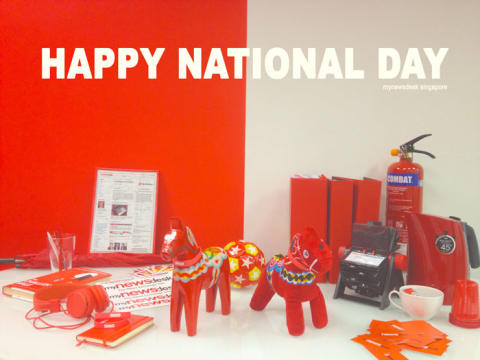 Happy National Day, Singapore
