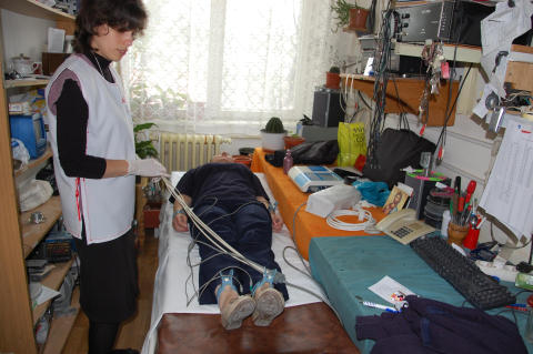 Health Expo för frihetsberövade kvinnor i Rumänien är genomfört