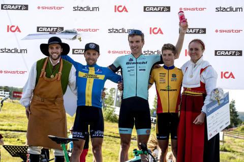 Cykelvasasprinten 2017 herrar