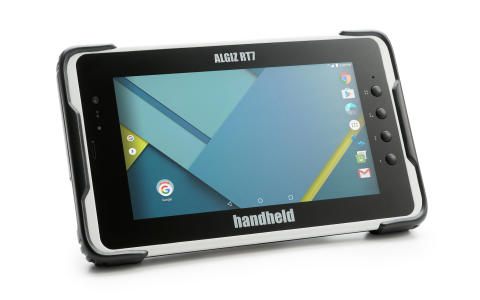 Handhelds stryktåliga tablet ALGIZ RT7 nu med Android 6.0 och 2 GB RAM