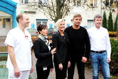 Avesta Lasarett får ta emot 1,3 miljoner av Södra Dalarnas Sparbank till inköp av strategisk medicinsk utrustning