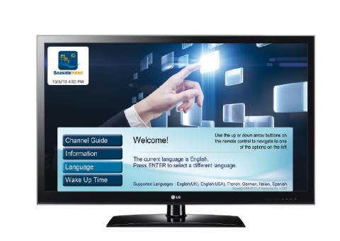 LG lanserer ProCentric V – en helt ny tv-løsning for hoteller