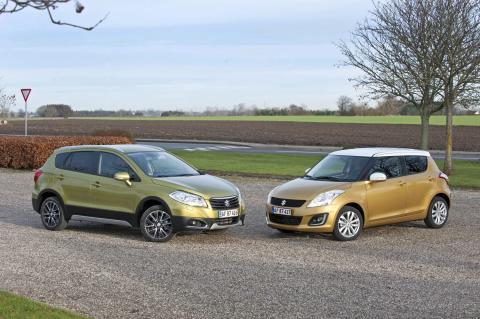 Suzuki Nytårsshow med billige, sjove og spændende biler