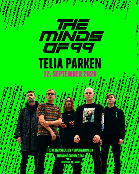 The Minds of 99 annoncerer eneste koncert i 2020 i Telia Parken!