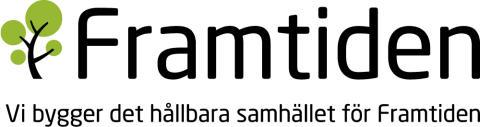 Framtiden lanserar sin logotyp