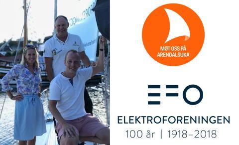 Møt EFO på Arendalsuka - Norge skal elektrifiseres!