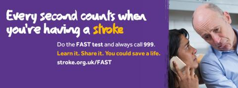 Gillingham stroke survivor urges people to act FAST