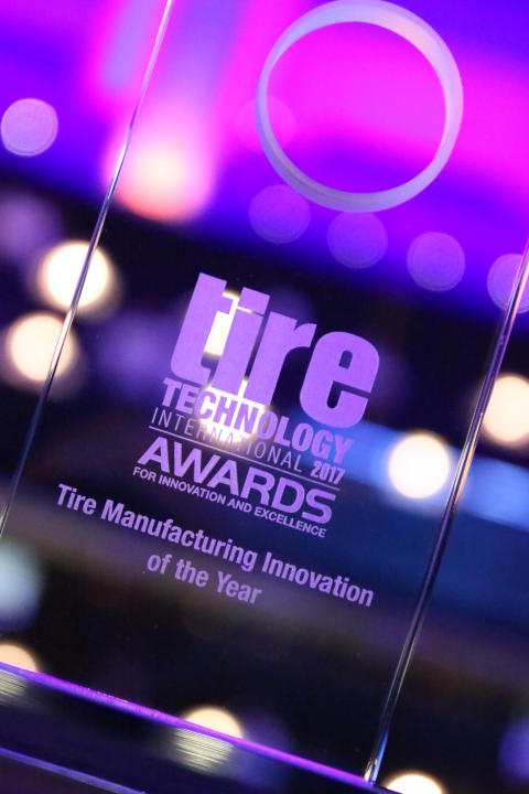 Tire Manufacturing Innovation of the Year, award picture