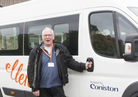 A new minibus for ellenor