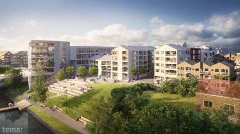 Riksbyggens halvårsrapport: Stark tillväxt och nyproduktion av bostäder i 55 kommuner