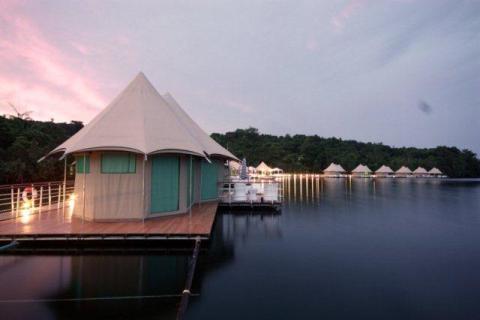 4-Rivers Floating Lodge, Kambodja.