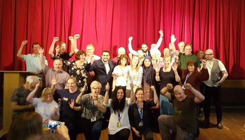 Record turnout awards community groups funding