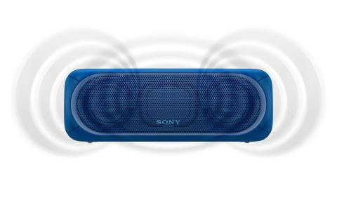 SRS-XB40 von Sony_blau_5