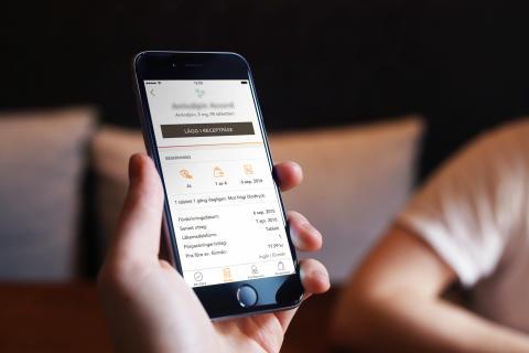 Nu finns Kronans Apoteks app för nedladdning
