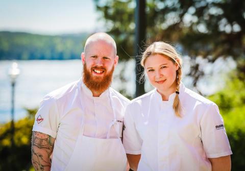 Högbergas köksteam tar två nya platser i Stockholm Culinary Team