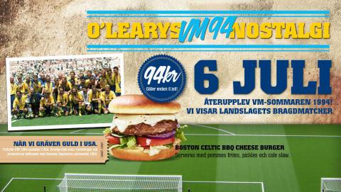 O'Learys köper rättigheterna till VM 94 av FIFA.