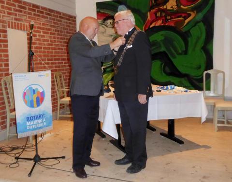 Carl Hedberg ny Rotaryguvernör