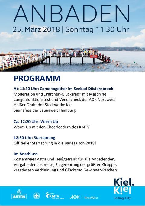 Programm Anbaden 2018