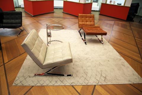Rudolf Horns Möbel im GRASSI Museum für Angewandte Kunst Leipzig