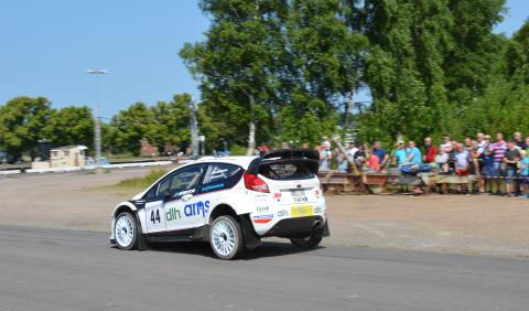 Gustafsson och Andersson segrare i Rally-SM publiksuccé Sommarsprinten