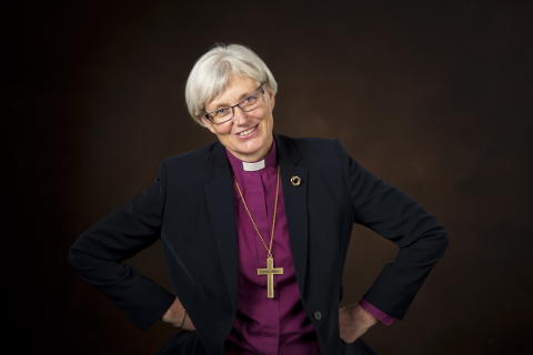 Antje Jackelén - blivande ärkebiskop i Svenska kyrkan