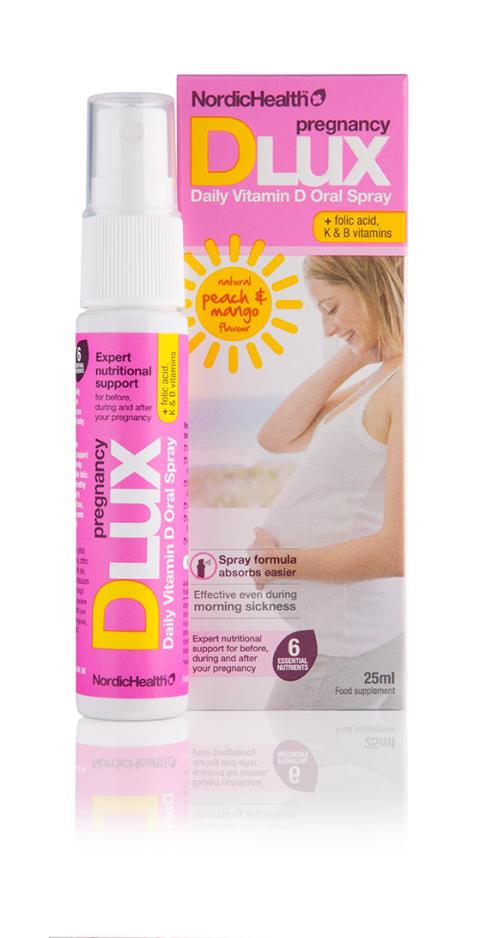 DLUX PREGNANCY D-VITAMINSPRAY